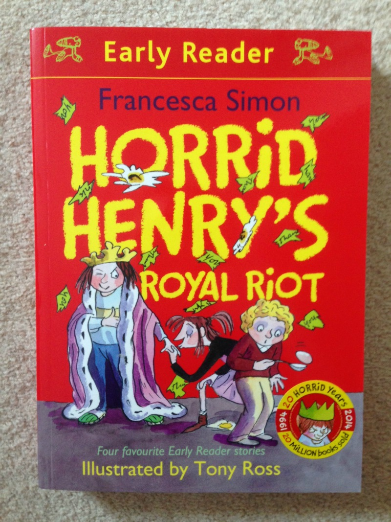 Horrid henrys royal riot book review over 40 and a mum to one expocarfo Choice Image