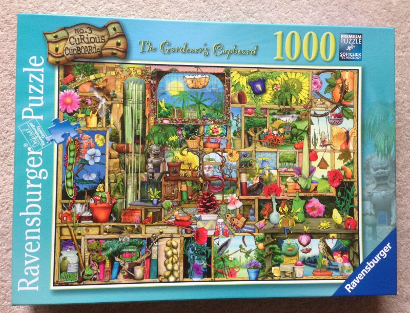 The Gardener 39 S Cupboard 1000 Piece Jigsaw Puzzle Over 40 And A Mum To One