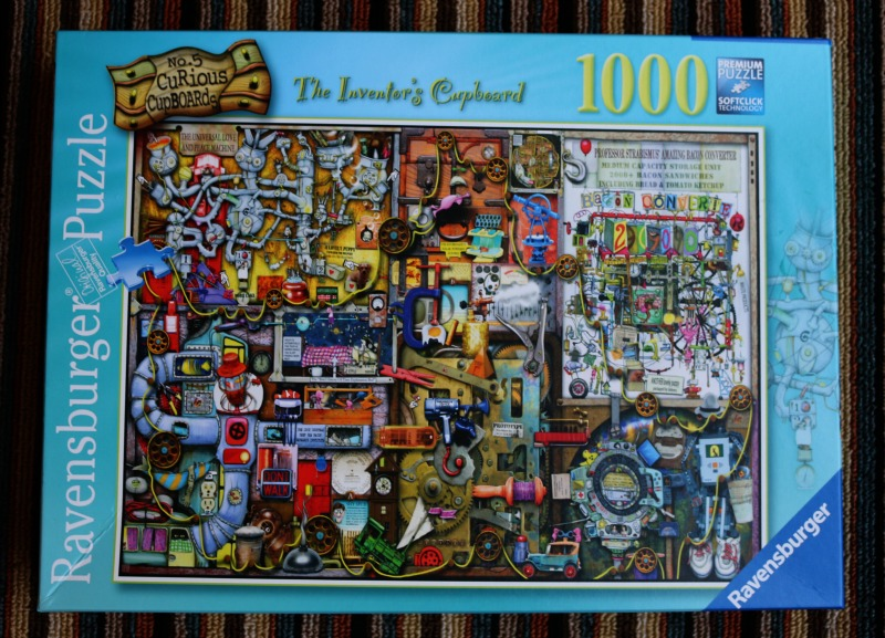 The Inventor S Cupboard 1000 Piece Jigsaw Puzzle Over 40 And A Mum To One