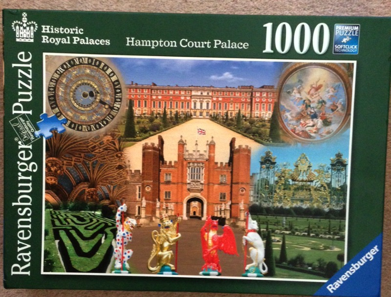 Hampton Court Palace 1000 Piece Jigsaw Puzzle Over 40 And A Mum To One